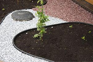 """Садовый бордюр """"Екобордюр"""" ТИП 3 (10м) зеленый, газонный бордюр, стандартный - фото 2"""