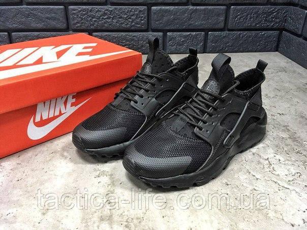 e3e9e63b Мужские кроссовки Nike Air Huarache Ultra черные (ТОП реплика) -  Тактика-лайф в