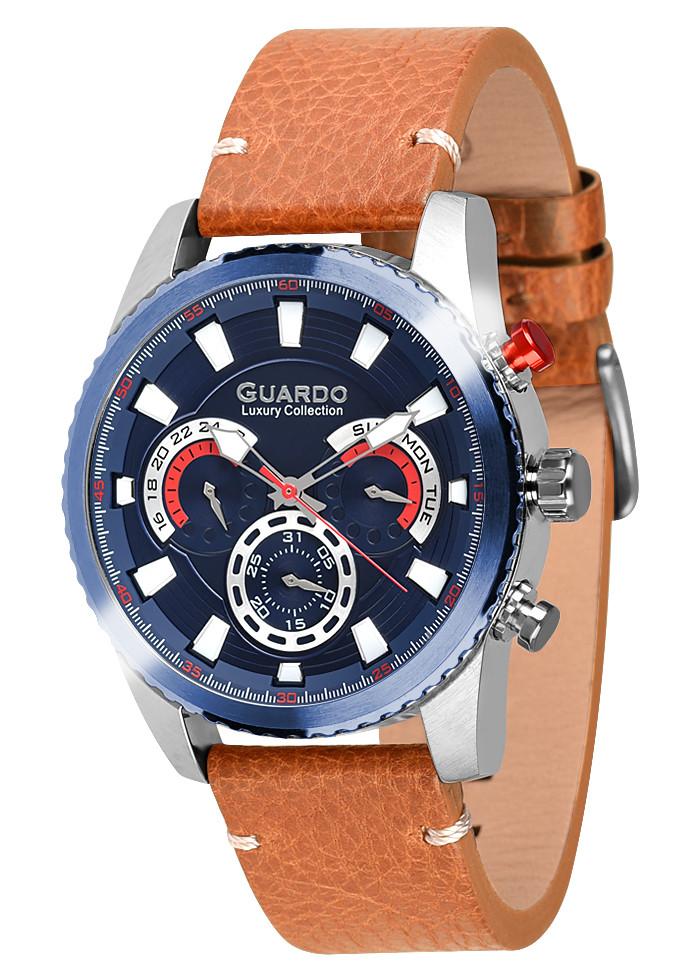Мужские наручные часы Guardo S01896 SBlBr