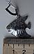 Серебряные серьги - подвески рыбки, фото 4