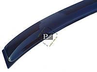 """Дефлектор заднего стекла """"ANV-AIR"""" Mitsubishi Lancer X 2007 -н.в. - Задний козырек Митсубиси Лансер 10"""
