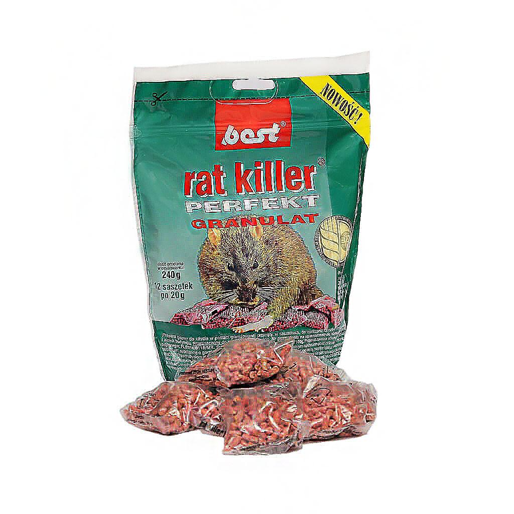 Мумифицирующее Средство для грызунов Best пакетики, 240 гр