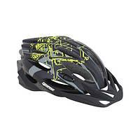 Шлем защитный Tempish STYLE черно-зеленый
