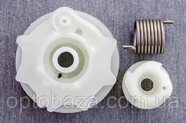 Шкив стартера + пружина + зацеп для бензопил тип Хусварна 137-142