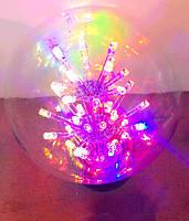 Праздничная разноцветная лампа RGB (E27,g80)