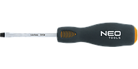 Отвертка шлицевая ударная, CrMo, NEO 04-005