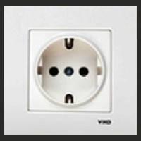 Розетка электрическая Vi-Ko Розетка с заземлением VIKO Karre (Карэ)