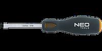 Отвертка шлицевая ударная, CrMo, NEO 04-018