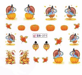 Слайдер-дизайн для ногтей BN-371