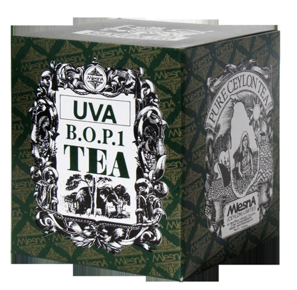 Черный Чай Ува, UVA, Млесна (Mlesna) 200г.
