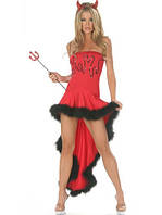 Сексуальный костюм дьяволицы, фото 1
