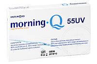 Линзы контактные на 1 месяц Morning Q 55 UV Interojo