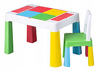 Детский столик и стульчик Tega Multifun Eco Multi
