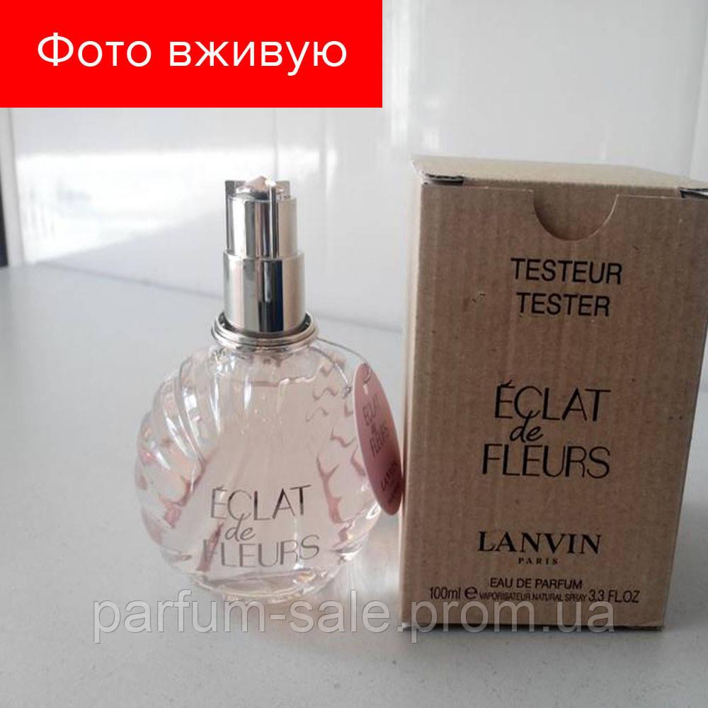 100 Ml Tester Lanvin Eclat De Fleurs Eau De Parfum