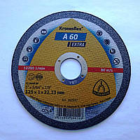 Круг отрезной 125х1,0х22,23 А60 Extra YX GER
