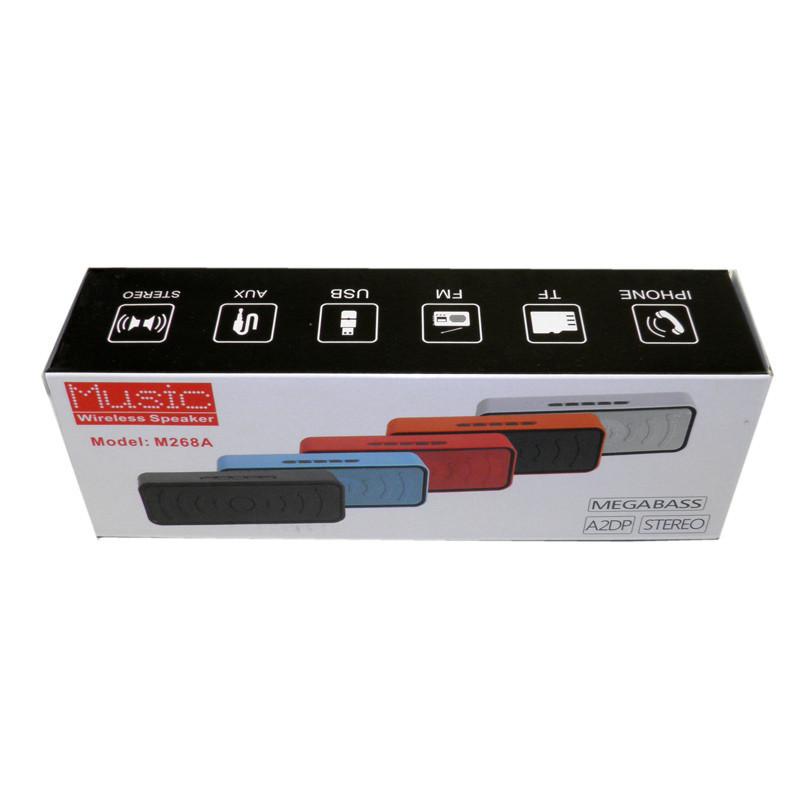 Колонка Bluetooth M268B Black