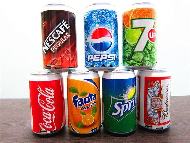 Мини-динамик Coca Cola/Pepci/Sprite/Fanta