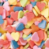Конфетті цукрові сердечка 0.2 кг/упаковка