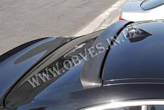 Карбоновый спойлер BMW F10 стиль Hamann (на стекло)