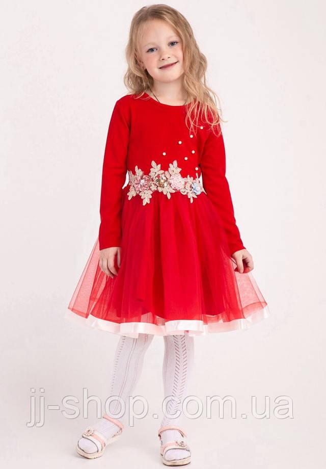 822397ceaf2f56c Нарядное детское платье для девочек 4-6 лет, с фатиновой юбкой и цветами.  Очень красивое ...