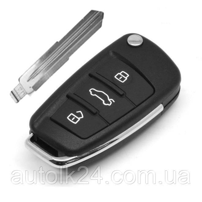 Корпус выкидного ключа LADA (корпус) 3 - кнопки
