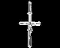 Крест серебряный православный с распятием 50227