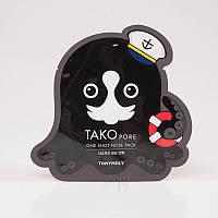 Патч для очищения носа от черных точек Tony Moly Tako Pore One Shot Nose Pack - 1 шт.