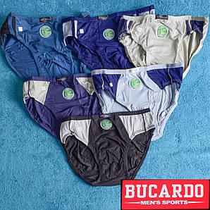 Мужские трусы плавки бамбук Bucardo BU201,205 2XL 50-52. В упаковке 6 трусов