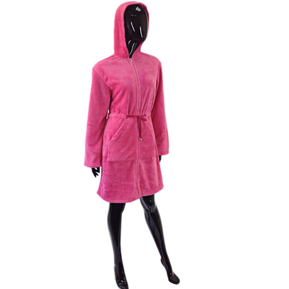 Soft show collection Халат-кенгуру женский из микрофибры SOFT SHOW COLLECTION (СОФТ ШОУ КОЛЛЕКШН) SS42-4