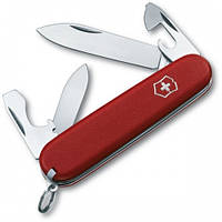Victorinox Викторинокс нож Recruit 10 предметов 84 мм красный