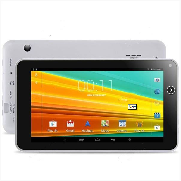 Планшет AOSON M751S 7 Android 4.4 A33 8GB Tablet PC ж / Miracast OTG