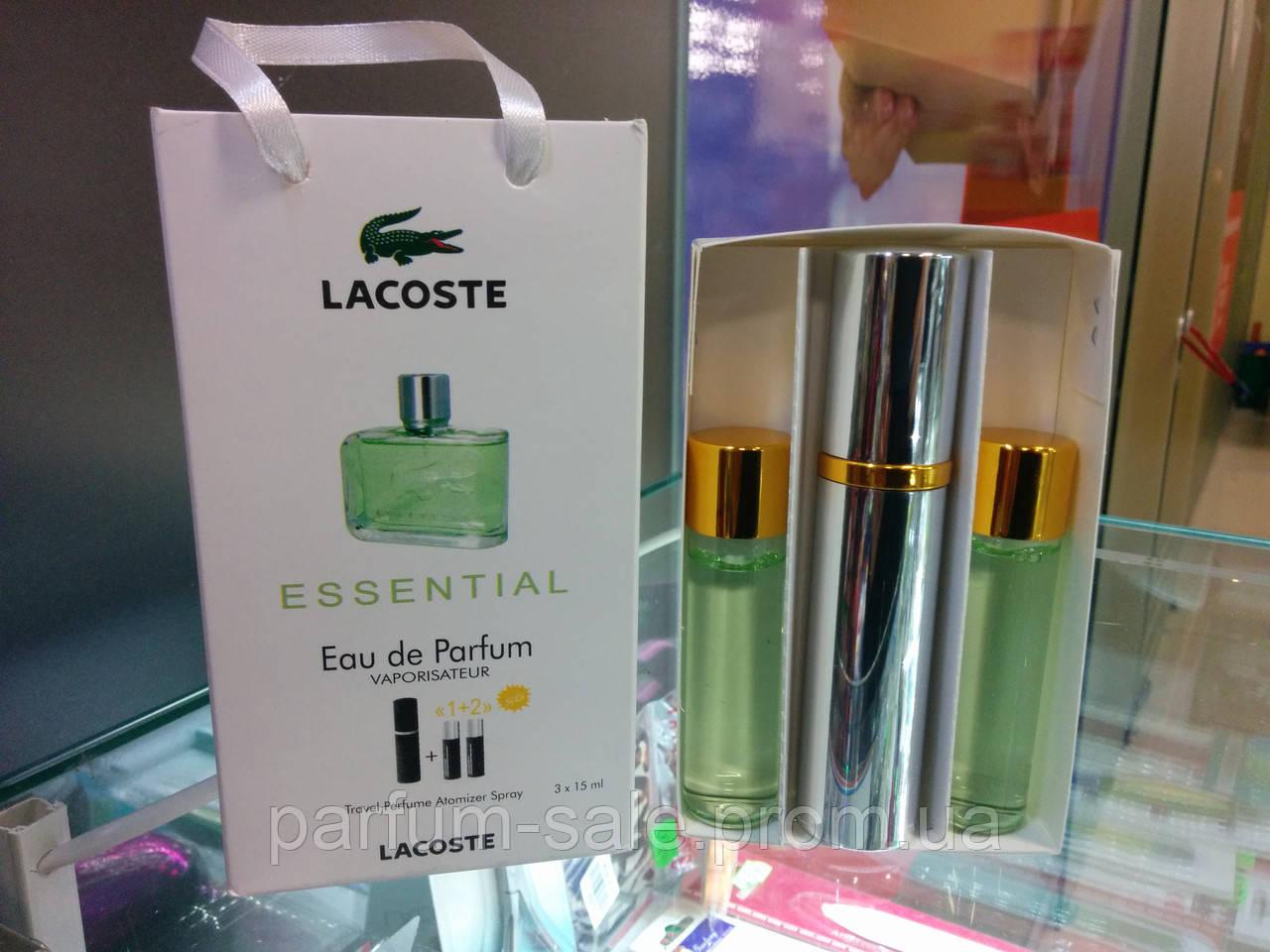 45 Ml ( 3x15 ) Lacoste Essential Men. Eau De Parfume  11ba6701361fe