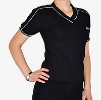 Черная футболка спорт (W810) | 4 шт.