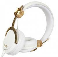 Наушники WESC Bassoon Golden White DJ Pro