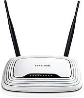 Wi-Fi Маршрутизатор  TP-Link TL-WR841N 802.11b/g/n, 300Mbps + router 4 порта , 2 антенны