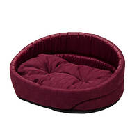 Лежак для собак и котов Lux 2 (55х43х15 см) бордо