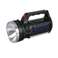 Фонарик + лампа №YJ-2836Т (АКБ / Солнечная батарея + дозарядки)