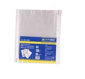 Файл А4 (Buromax) 40мкм (100шт. / Уп) ш.к.4824004004415