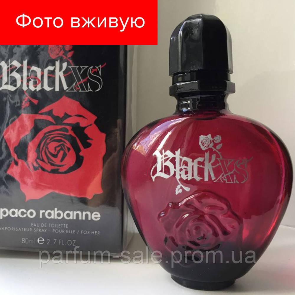 80 Ml Paco Rabanne Black Xs Eau De Toilette туалетная вода пако