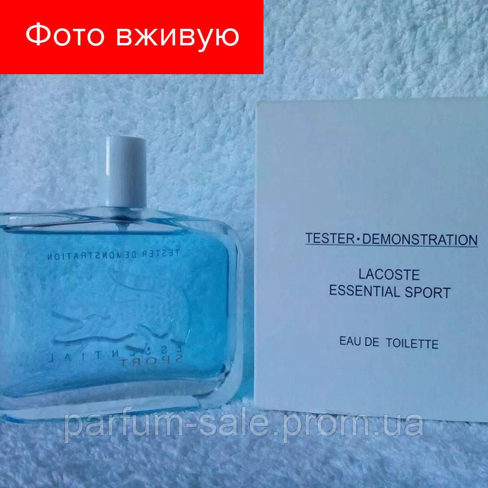 125ml Tester Lacoste Essential Sport Blue Men. Eau de Toilette ... 21be840353e07