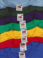 Комплект* 5 мужских футболок S-XXL fruit of the loom любого цвета