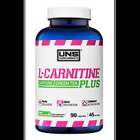 Л-карнитин UNS L-Carnitine PLUS, 90 caps