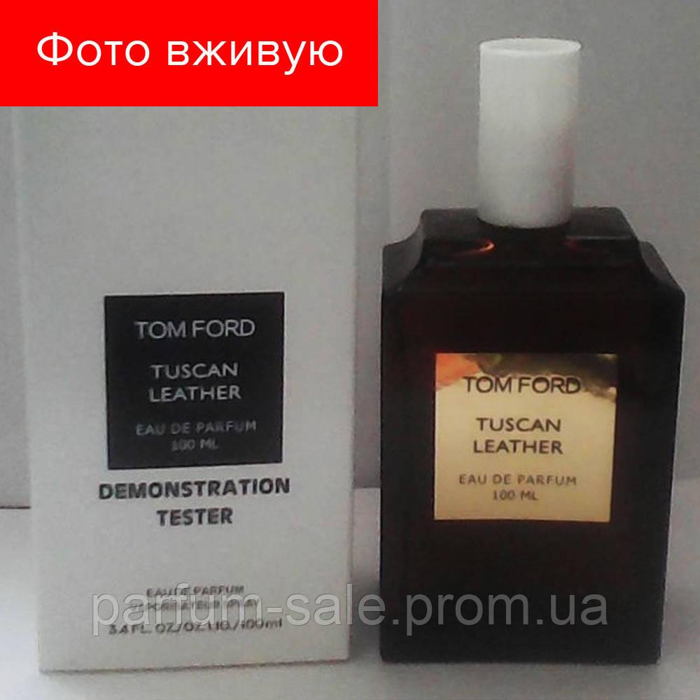 100 Ml Tester Tom Ford Tuscan Leather Eau De Parfum тестер парфюм