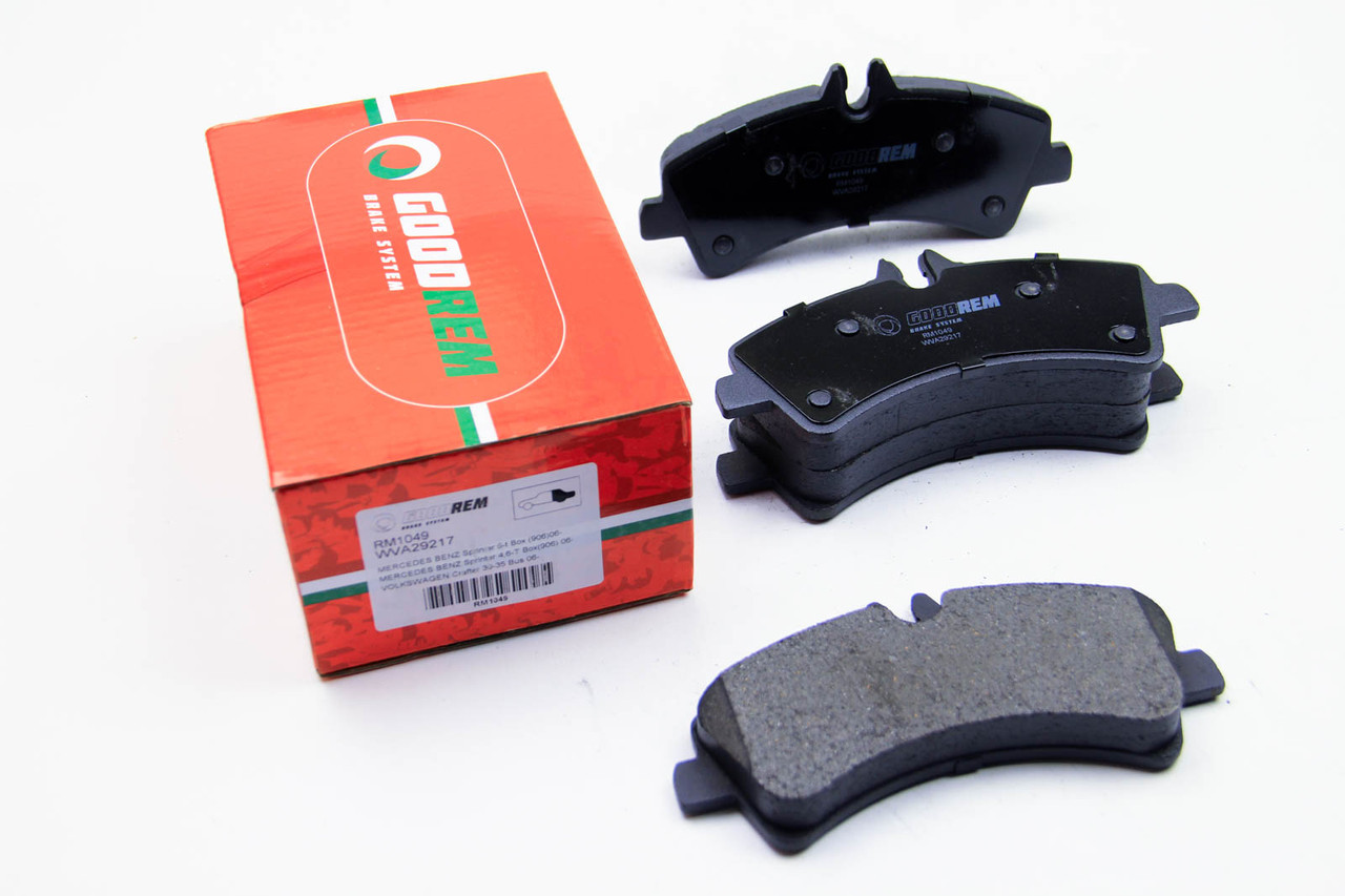 Колодки тормозные задние MB Sprinter 509-519 CDI/VW Crafter 50, 06- (спарка) Goodrem