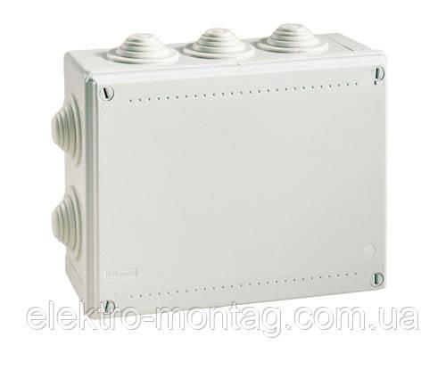 Распределительная коробка наружная Р-9, 100х100х70