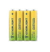 Батарейка ENERLIGHT Super Power (AAА мини-ПАЛЬЧИК) (ТЕХНИЧЕСКИЙ) 4 шт. / Ок 60 шт. / Уп 4823093502116