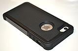 Чохол Silicon Splint для Apple iPhone 4 / iPhone 4s - Black, фото 3