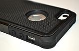 Чохол Silicon Splint для Apple iPhone 4 / iPhone 4s - Black, фото 4