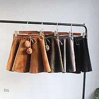 Женская красивая юбка с поясом (4 цвета), фото 1