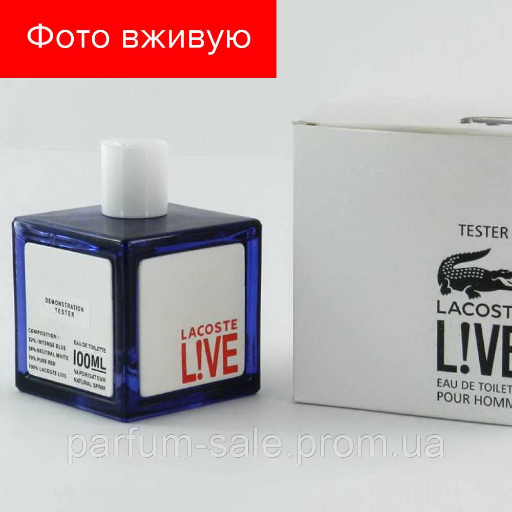 Tester Lacoste Lacoste Live. Eau de Toilette 100 ml  047c711935439